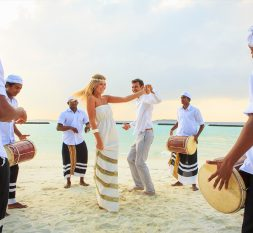 库鲁巴岛婚礼服务