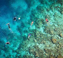 班度士岛房礁浮浅