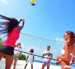 小班度士岛沙滩排球