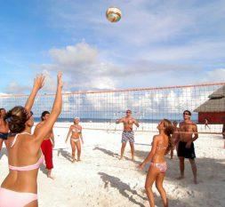 阿达郎绚丽岛沙滩排球