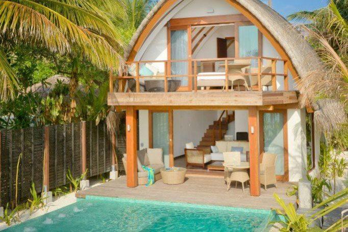坎德鲁岛双层泳池别墅(Duplex Pool Villa)