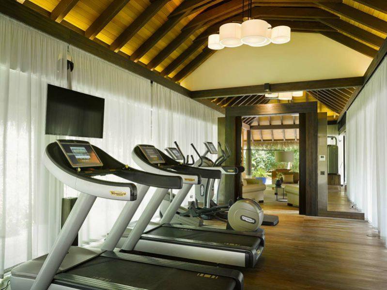 维拉私人岛健身房