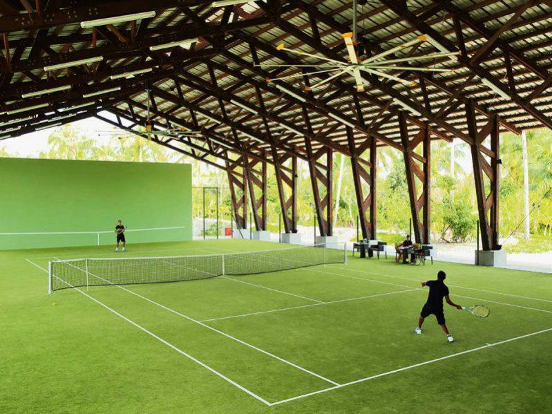 维拉私人岛网球