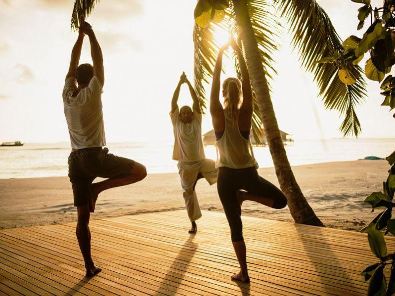 维拉私人岛瑜伽