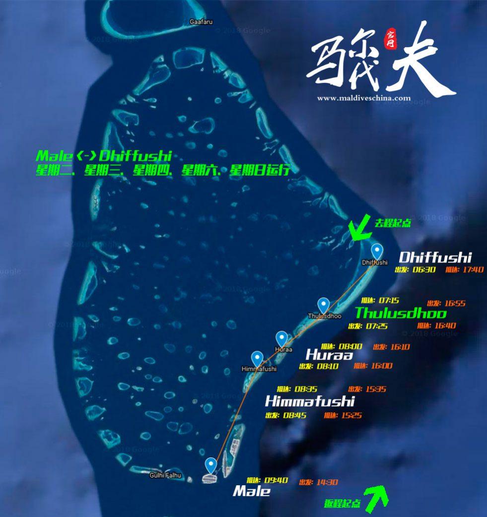 Thulusdhoo地图