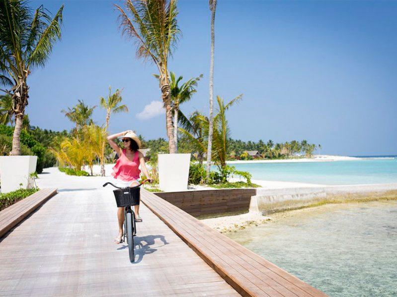 尼雅玛岛自行车