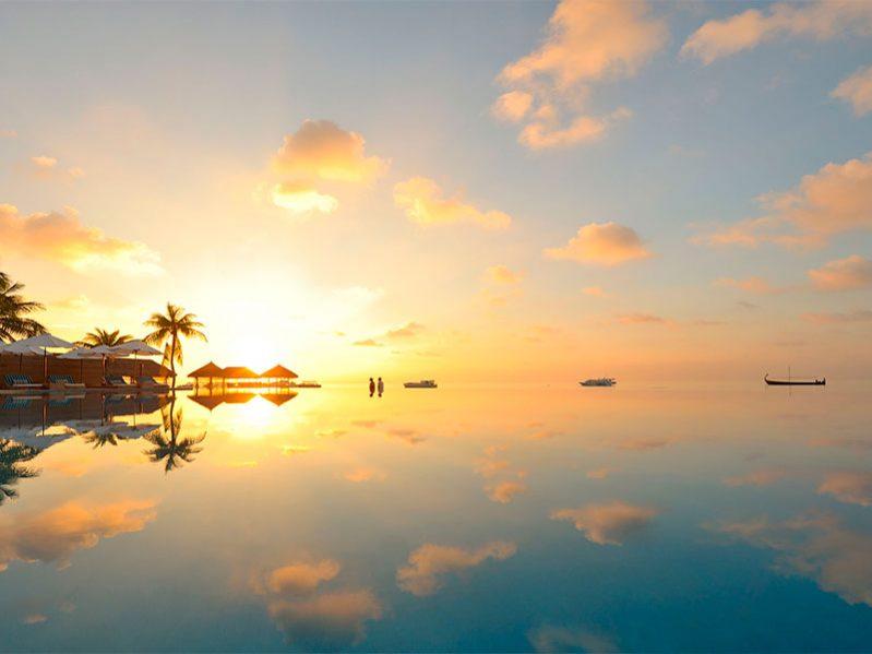 维拉沙鲁岛无边泳池